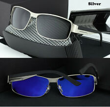 Mens HD Polarized Aviator Sunglasses Outdoor Driving Fishing Glasses Eyewear C6