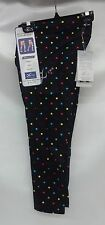 CW-X Womens 3/4 Length StabilyX Tights Print 125816 Black/Polka Dots Extra Small