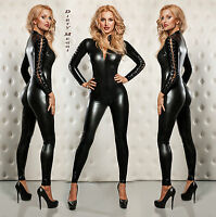 SEXY CATSUIT BODY GOGO OUTFIT ANZUG S M 36 38