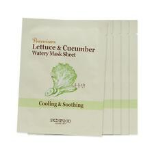 [Sample] [Skin Food] Skin Food Premium Lettuce & Cucumber Watery Mask x 5PCS