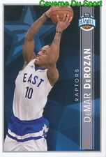 390 DEMAR DEROZAN USA EASTERN CONF ALL-STARS STICKER NBA BASKETBALL 2017 PANINI
