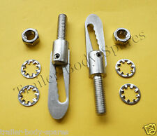 FREE 1st Class Post - 2 x Stainless Steel M8 x 20mm Antiluce Trailer Fastener