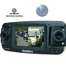 UNIDEN Triple HD In-Car Vehicle Recorder W Cam - 2 x 180 Swivel Cameras - 2.7""