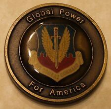 HQ Air Combat Command Transportation serial # 090 Air Force Challenge Coin