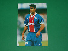 PHOTO CARTE RAI SOUZA VIEIRA DE OLIVEIRA PARIS SAINT-GERMAIN PSG 1997 1998