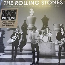 THE ROLLING STONES 'THE UNRELEASED CHESS SESSIONS' LTD WHITE VINYL LP NEW SEALED