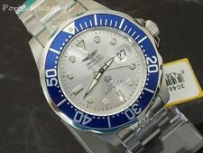 Invicta Men's 47mm Grand Diver 24 Jewel Automatic Silver Dial Stainless Steel