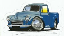 MORRIS MINOR PICK UP Sticker Decal
