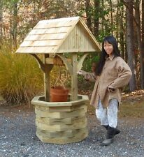 Wood Plans for a 6 ft. Wishing Well - CD via Mail