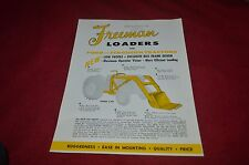Freeman Loaders For Ford & Ferguson Tractors Dealers Brochure YABE10