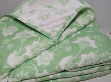 Pottery Barn Kids Multi Colors Birdie Birds Flowers Floral Cotton Twin Quilt New