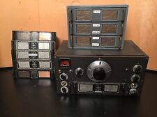 NATIONAL HRO HAM RADIO RECEIVER AND COILS WITH BOX WORKS 100% Rec Refurbed