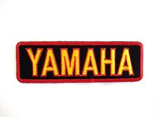 New YAMAHA Motor Biker Racing Embroidered Iron Patch Badge Applique Cap Jacket