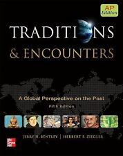 Traditions And Encounters AP Edition by Jerry Bentley