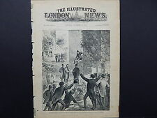 Illustrated London News Cover S8#03 Nov 1887 The State of Ireland