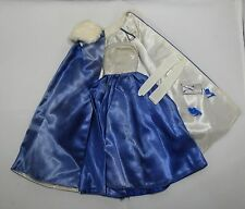 VINTAGE BARBIE OUTFIT MIDNIGHT BLUE #1617 c1965 COMPLETE OUTFIT WITHOUT JEWELRY