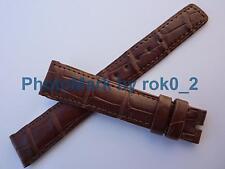 Genuine Vacheron Constantin Alligator Brown Strap Band 18mm X 14mm BRAND NEW!!!