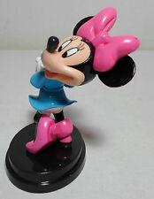DISNEY COLLECTION 4.5'' MINNIE MOUSE ON STAND PVC FIGURE DE AGOSTINI ITALY