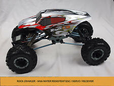 1/10 4x4 ROCK CRAWLER RC REMOTE CONTROL HSP ELECTRIC READY TO GO 4WD TRUCK SIL