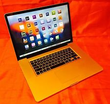 "MacBook Pro 17""  3.3GHz Quad i7 TURBO+16GB +2TB SSHD + COMPLETE STUDIO/EDITING"