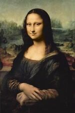 "Leonardo DaVinci - Mona Lisa - 24"" x 36"" Art Reproduction Print"