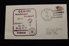 NAVAL SPACE COVER 1965 GEMINI GT-4 RECOVERY SHIP USS RICH (DD-820) (777)