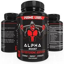 Alpha Boost Testosterone Booster for Strength and Energy, Over The Counter New