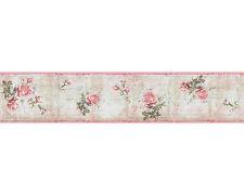 Djooz bordo di carta da parati 95665-1 Storia d'amore rosa Dell'annata ( pro m)
