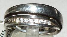Anello mis. 55 da 925 argento con zirconi