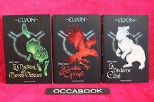 Elyon, Tome 1,2 et 3 - Patrick Carman - Livre - Occasion