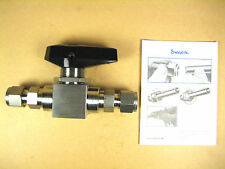 "Swagelok  SS-83KS6  1/2"" High Pressure Stainless Ball Valve"