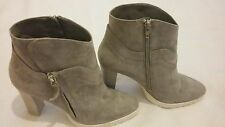 STEFFEN SCHRAUT High Heels Ankle Suede Boots Shoe Grey Size uk 5 eu 38 RRP- £230