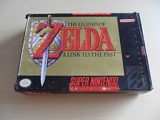 Nintendo SNES NTSC US - Zelda A Link To The Past - Boxed With Instructions