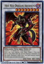 YF06-EN001 Hot Red Dragon Archfiend Ultra Rare Limited Edition Mint YuGiOh Card