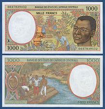 CENTRAL AFRICAN STATES / GABON 1000 Francs (20)00 UNC P.402L g