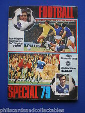 AVA Americana Album ' Football Special 79  '   c/w  112/384  stickers STUCK IN