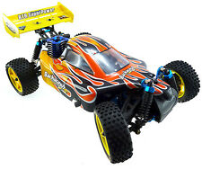 HSP 1:10 Scale Nitro Gas Power 4wd Rc Car Toy Two Speed Off Road Buggy 94166