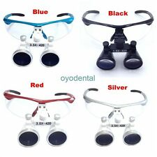 3.5X Dental Loupes Surgical Binocular Loupe Dental Magnifier 420mm for Dentist