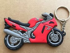 New Honda CBR 1100XX Motorcycle keychain Rubber. As Picture US SELLER