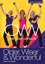 Older Wiser Workouts: Older, Wiser & Wonderful - Level 1 & Level 2 (DVD, 2014)