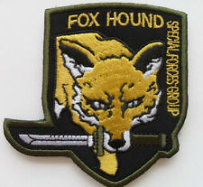FOX HOUND SPECIAL FORCE GROUP .Metal Gear Solid. Velcro Patch SJK+  146