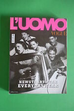 L'UOMO VOGUE 317/2001 TRUMAN CAPOTE DUET BY BRUCE WEBER BROWNS S.BY STEVEN KLEIN