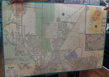 El Paso TX Laminated Wall Map