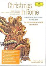 Christmas In Rome DVD NEW Vivaldi Trevor Pinnock McCreesh Gabrieli Consort
