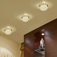 New Gorgeous Modern LED Crystal Pendant Lamp Ceiling Decor Fixture Light