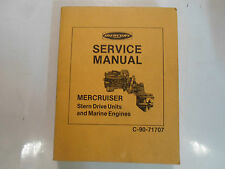 Mercury Marine Mercruiser Stern Drive Units & Marine Engines Service Manual OEM