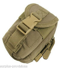 Condor MA45 Tactical iPouch Molle pack for your iphone, camera, tools - Tan