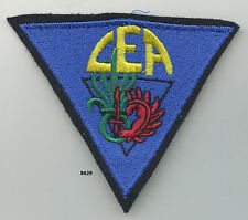 Patch , CEA. /  2  Rgt. Étranger Parachutiste    , ( 90x80mm.  )