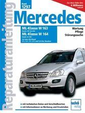 MERCEDES ML W163 W164 Reparaturanleitung Reparatur-Handbuch Reparaturbuch Buch