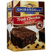 HUGE Ghirardelli Triple Chocolate Brownie Mix  fast ship